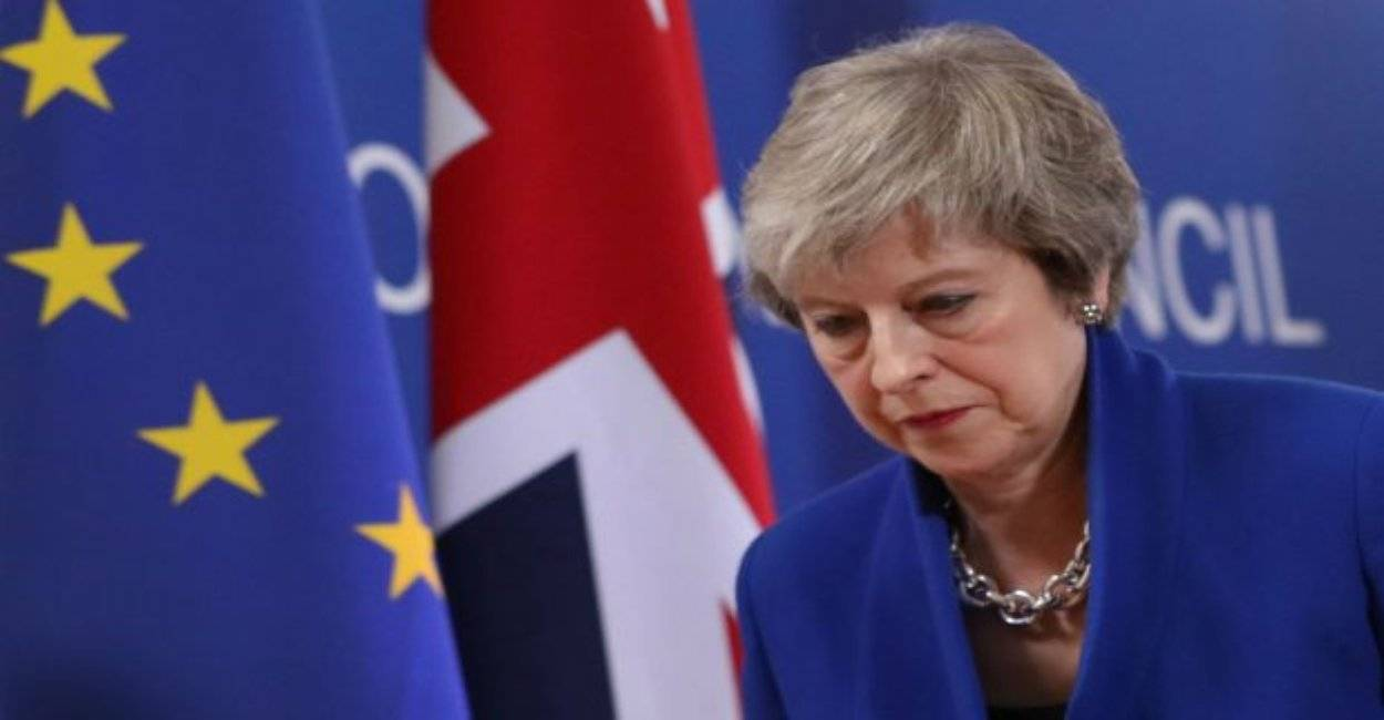 brexit theresa may tusk