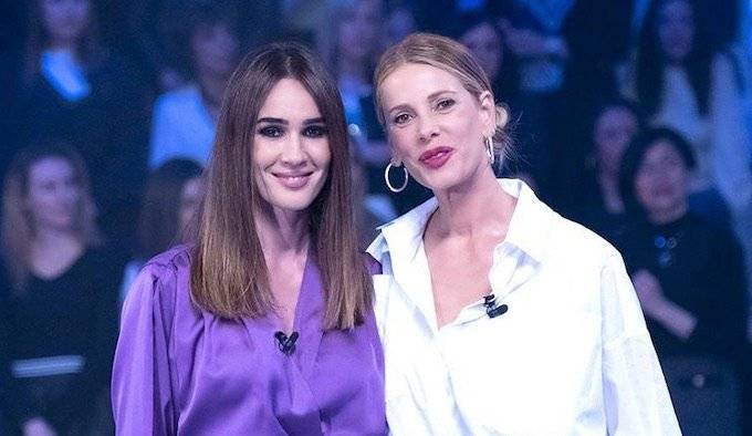 Alessia Marcuzzi e Silvia Toffanin