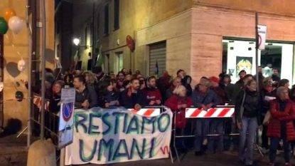 Ancora contestazioni per Matteo Salvini
