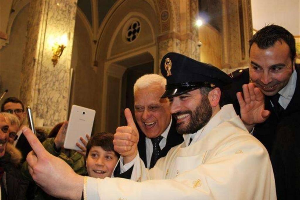 Da poliziotto a prete