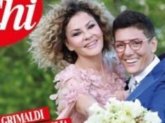 Eva Grimaldi e Imma Battaglia nozze