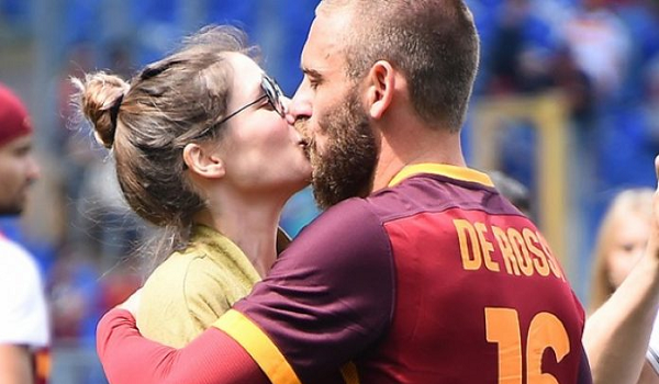 Sarah Felberbaum e Daniele De Rossi