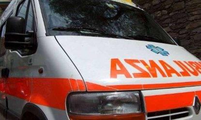 Incidente di caccia, ambulanza e vigili del fuoco