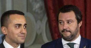 Di Maio con Salvini