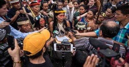 indios waorani