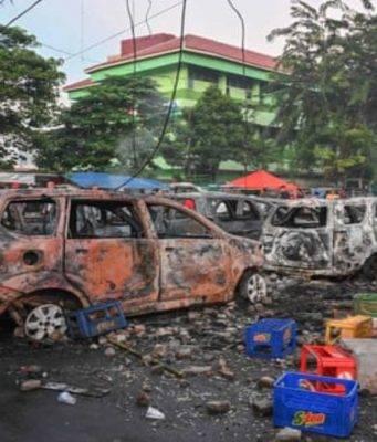indonesia scontri