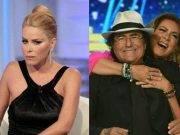Al Bano con Romina Power e Loredana Lecciso