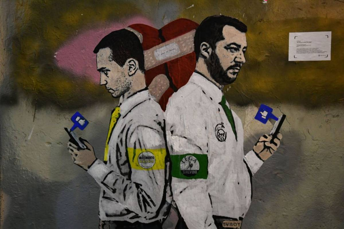 """per Il Giornale Salvini è """"innamorato"""" di Di Maio"""