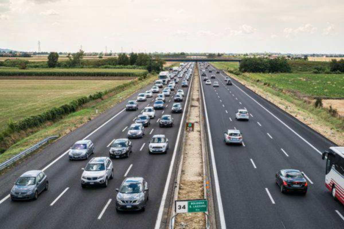 Bollini autostrade estate 2019