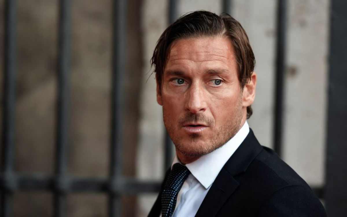 Conferenza stampa Francesco Totti