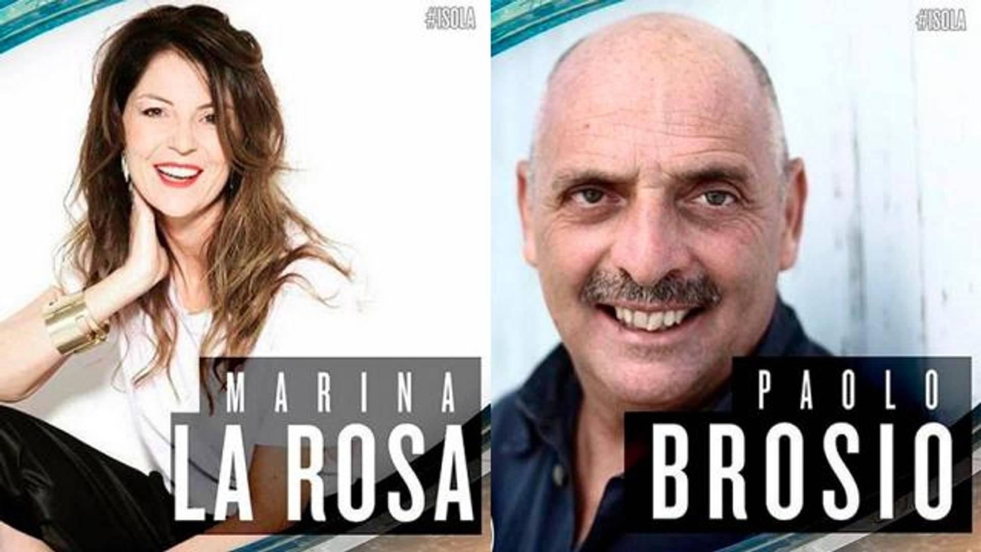Marina La Rosa e Paolo Brosio