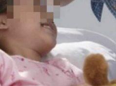 la bimba ferita a Napoli torna a casa