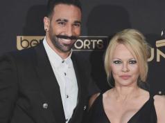 Pamela Anderson e Adil Rami