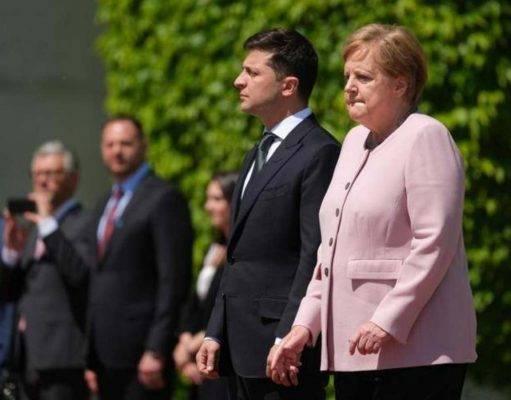 il video spaventa la Germania