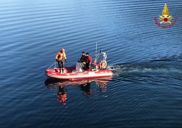 morto annegato nel lago