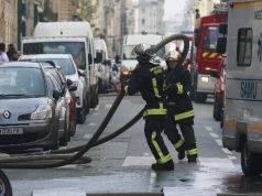 parigi incendio palazzo
