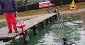 ragazzino morto nel lago
