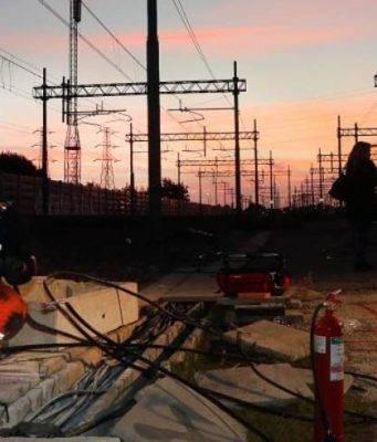 Ferrovia sabotata