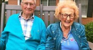 fa il giro del web la storia degli sposi centenari