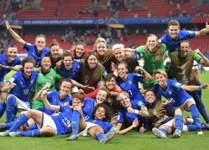 Nazionale di calcio femminile ai mondiali in Francia