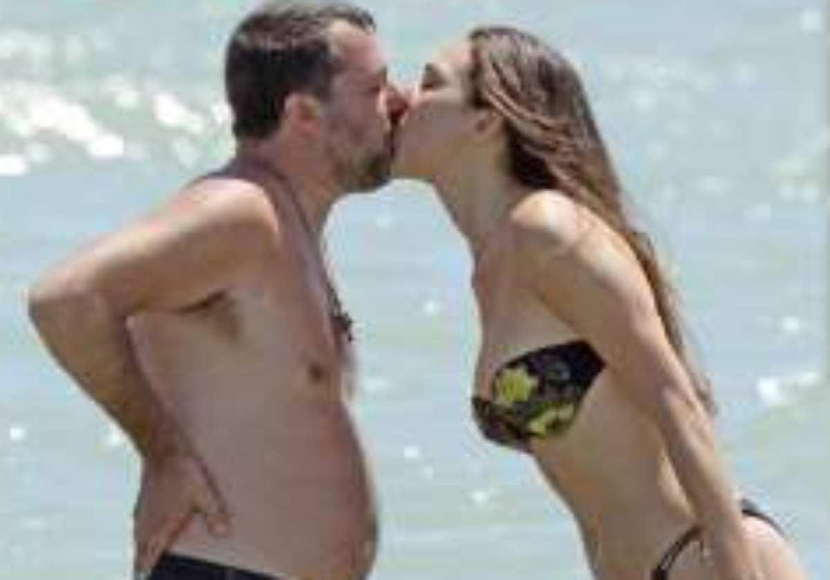 Salvini e Verdini in vacanza