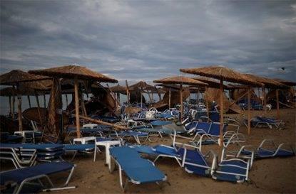 Tornado mette in ginocchio la Grecia