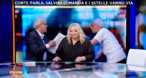 Vittorio Sgarbi e Giampiero Mughini
