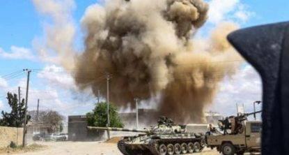 bombardamento libia