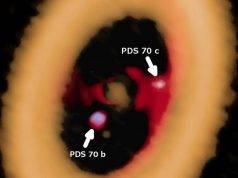 disco pianeta polvere gas