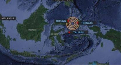 terremoto violento