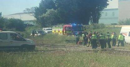 treno incidente