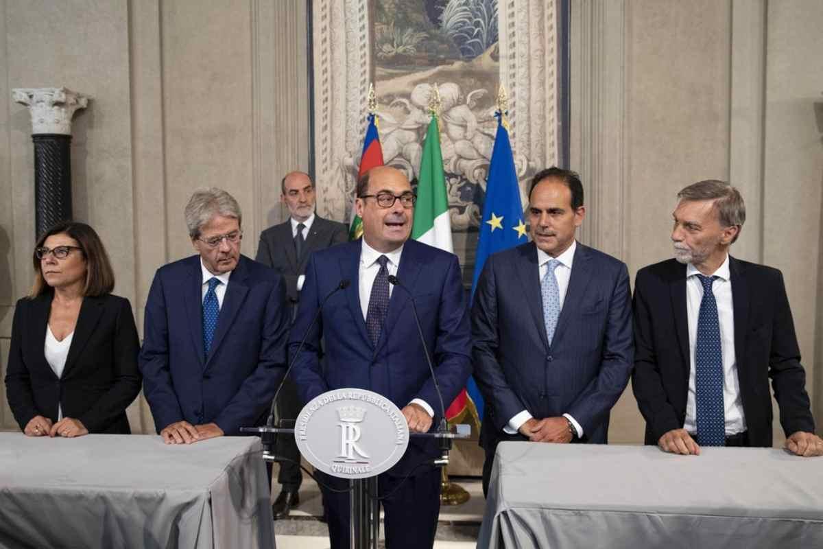 Governo Conte bis, Zingaretti