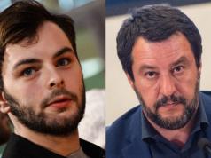 Lorenzo Fragola contro Matteo Salvini