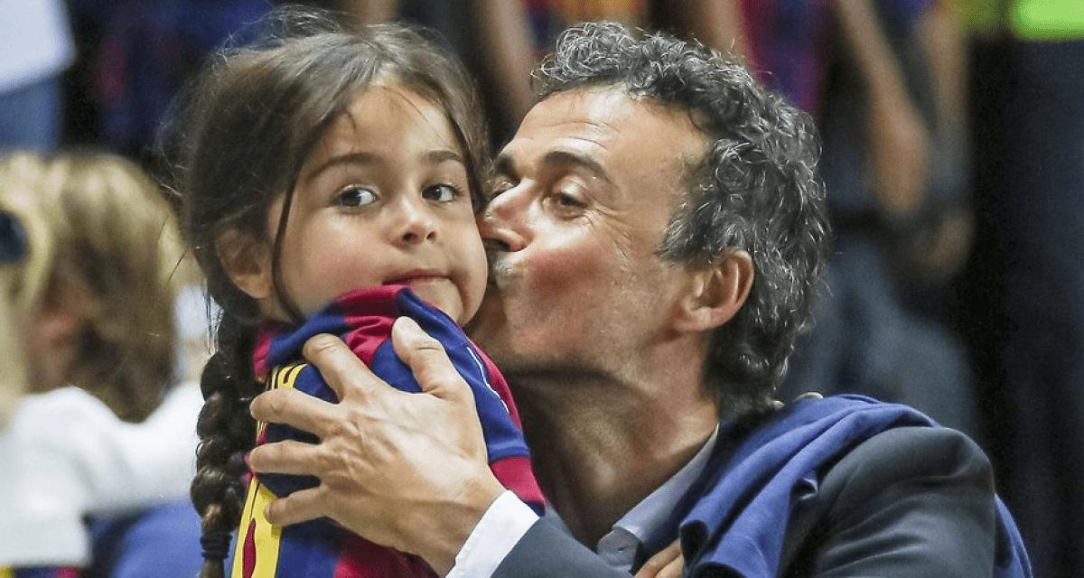 Luis Enrique, morta la figlia di 9 anni