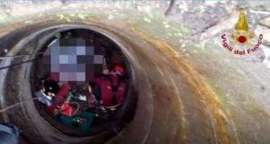 Uomo morto ritrovato in fondo ad un pozzo