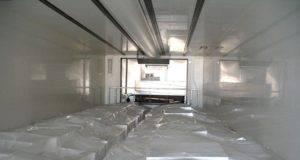 Trasportatore rimane chiuso nella cella frigorifera