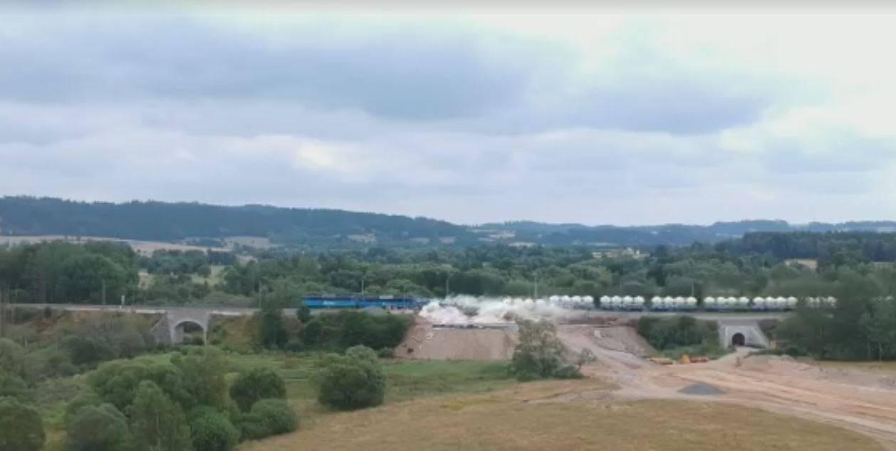 deragliamento ferroviario