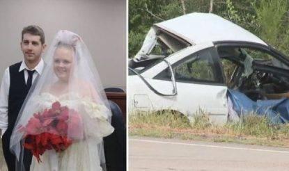incidente morti sposi