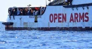 open arms salvini migranti
