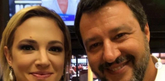 Asia Argento e Matteo Salvini