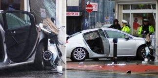 Automobile contro Chiesa a Leeds