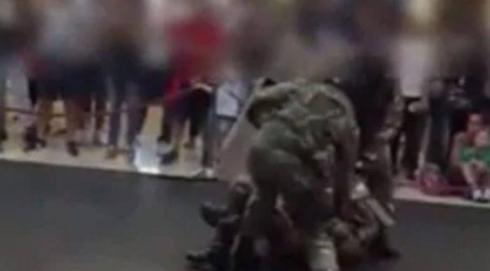 Dimostrazione esercito