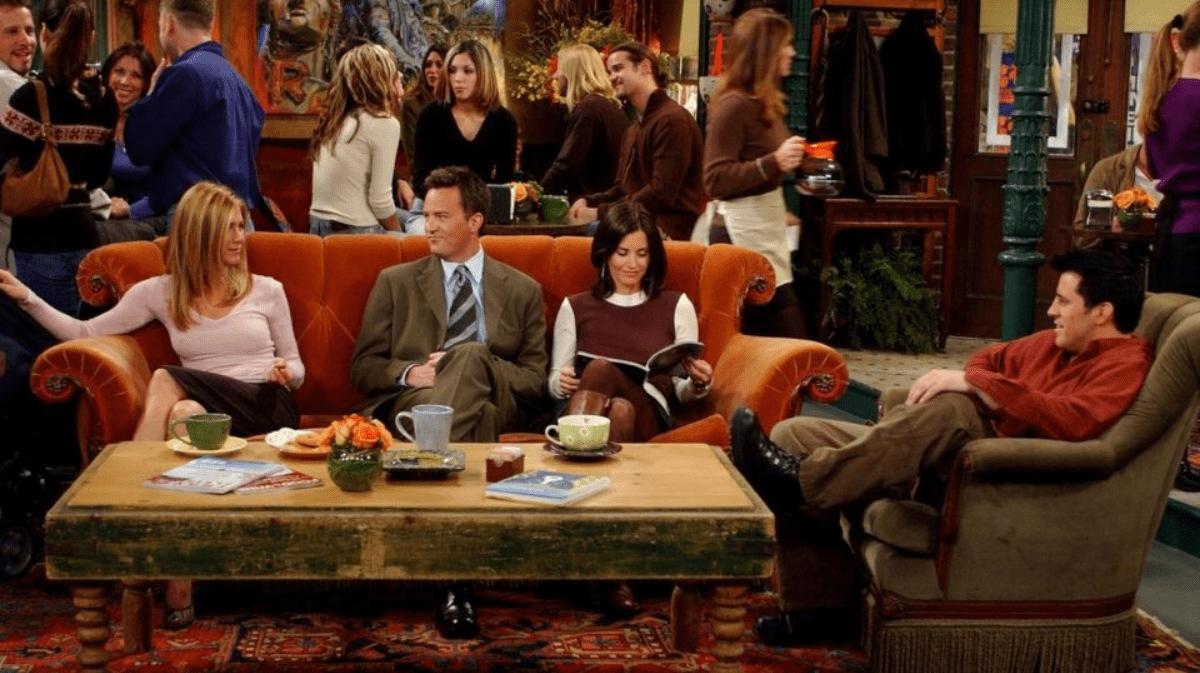 Friends, tour del divano della serie tv