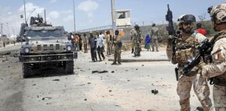 Mogadiscio, esplosione