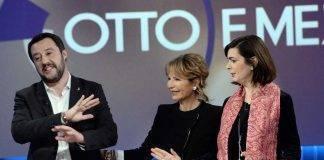 Salvini inizia a seguire la Boldrini su Twitter