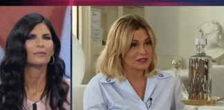 Simona Ventura e Pamela Prati