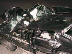 auto diana freno incidente