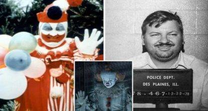 clown killer john wayne gacy