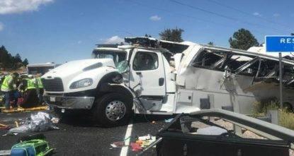 incidente bus parco nazionale