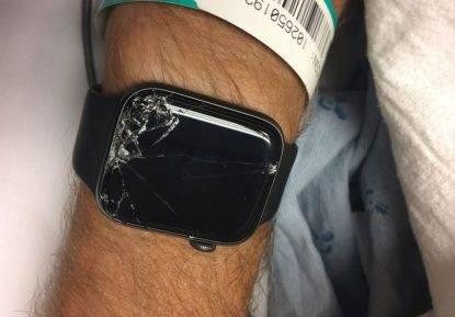 salvato dallo smartwatch